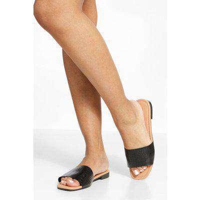 Croc Square Toe Sandals