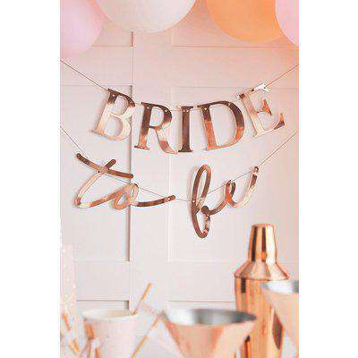 Ginger Ray 'Bride To Be' Bunting
