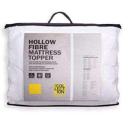 Hollowfibre King Mattress Topper