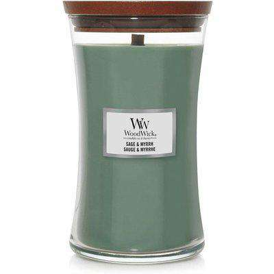 Large Hourglass Sage And Myrrh Candle