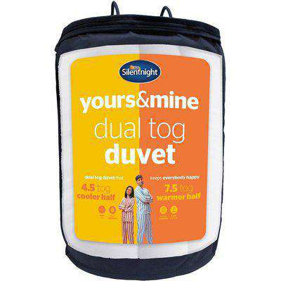 Yours And Mine Dual King Duvet 7.5 4.5 Tog