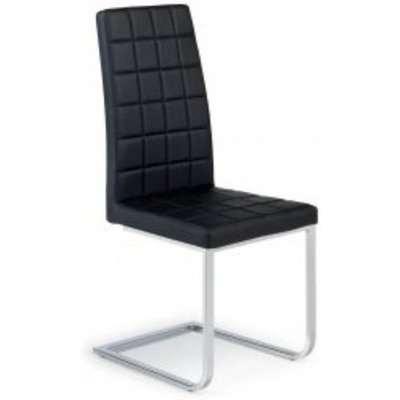 6 x Sienna Black Dining Chairs