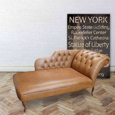 Chesterfield Leather 3 Seater / Club Chair / Club Chair Sofa…