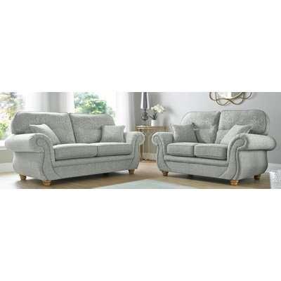 Fabric Sofa Suite | 3 + 2 large sofa | DesignerSofas4U