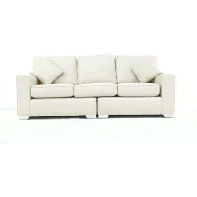 Glastonbury 4 Seater Fabric Settee Sofa Offer
