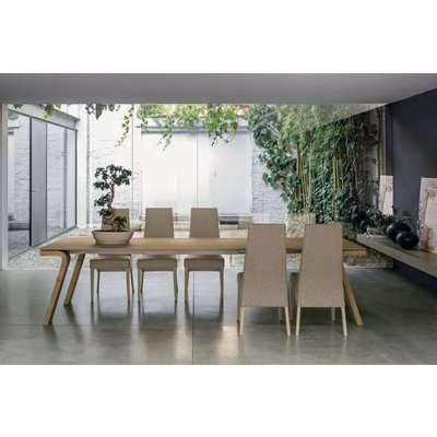Maciste 220 cm Extendable Dining Table Coutry Veneered Legs…