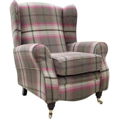 Sherlock Wingback Fireside High Back Armchair Balmoral…