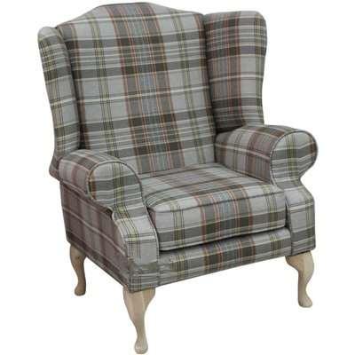 Slate Chesterfield Fredrick High Back Armchair | DesignerSofas4U