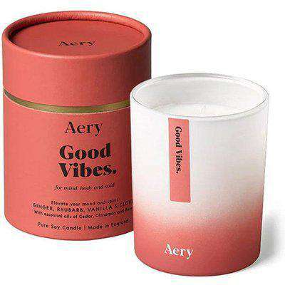 aery good vibes scented candle OS