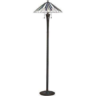 Astoria Range Art Deco Tiffany Floor Lamp