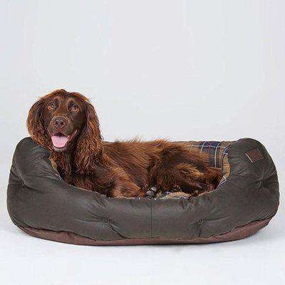 Barbour 30' wax dog bed OS