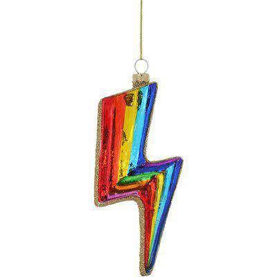 Cody Foster & Co Chroma Bolt Christmas Tree Ornament