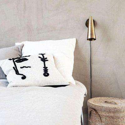 cushion cover, ingo, white OS