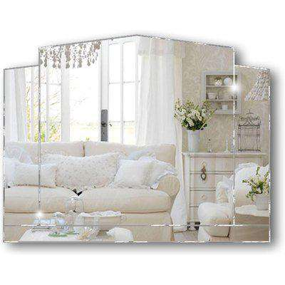 Essence Original Handcrafted Over Mantle Mirror with Diamond Polish