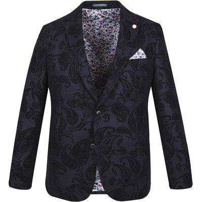 guide paisley flock jacket 38 R