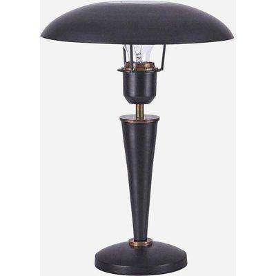 house doctor table lamp, opal,black OS