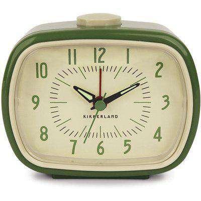 Kikkerland Retro Alarm Clock - Green