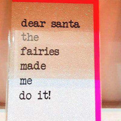 'More Glitter' Christmas Cards