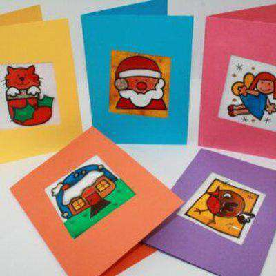Painted Christmas Card Set by SmartCraft