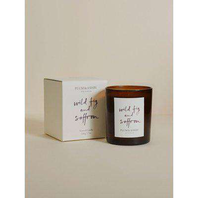 Plum & Ashby Wild Fig and Saffron Scented Candle