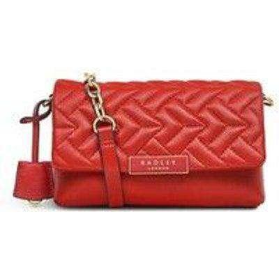 Radley Mill Bay Quilt Small Flapover Crossbody Bag - Red