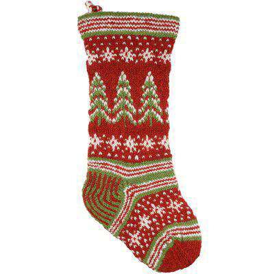 Retro Christmas Stocking