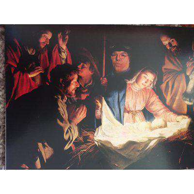 Roy 'Chubby' Brown Christmas Card - Nativity Scene (Personalised version available)