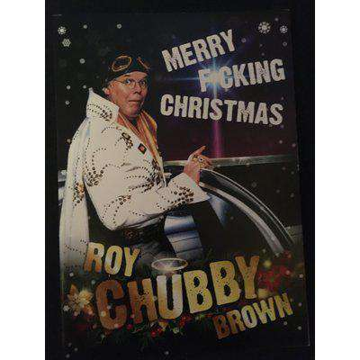 Roy 'Chubby' Brown Christmas Card (Personalised version Available)