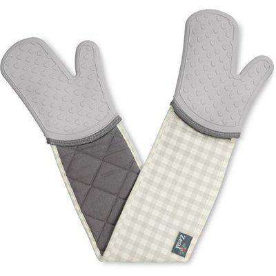 Silicone Double Oven Glove - French Grey