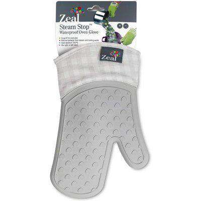Silicone Single Oven Glove - French Grey