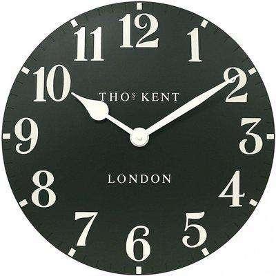 "Thomas Kent 12"" Arabic Forest Wall Clock"