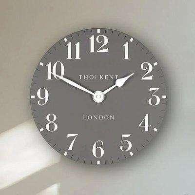 Thomas Kent Arabic Wall Clock 20' - Dolphin