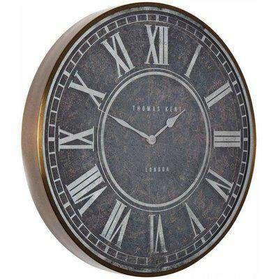 "Thomas Kent - Florentine Antica Wall Clock - 21"""