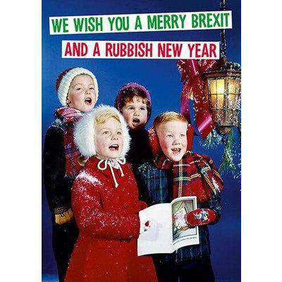 We Wish You a Merry Brexit Christmas Card - Dean Morris