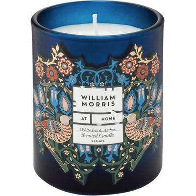 William Morris White Iris & Amber Scented Candle