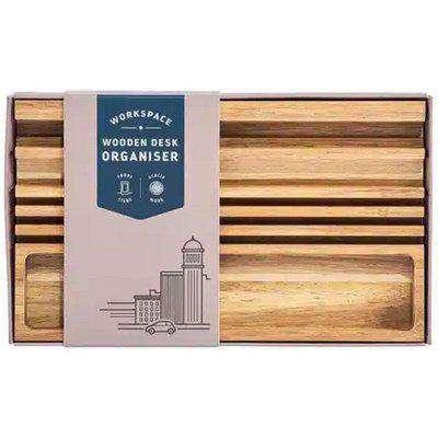 wooden desk organiser OS