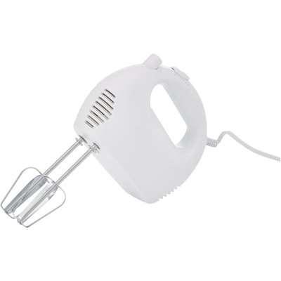 150W White Hand Mixer White