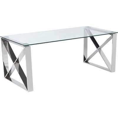 5A Fifth Avenue Madison Coffee Table Chrome