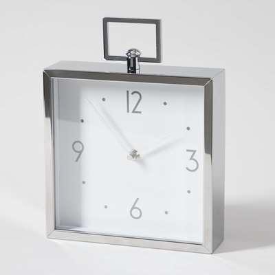 5A Fifth Avenue Metal Mantel Clock Metal