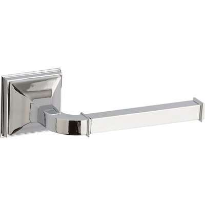 5A Fifth Avenue Wall Mounted Toilet Roll Holder Silver