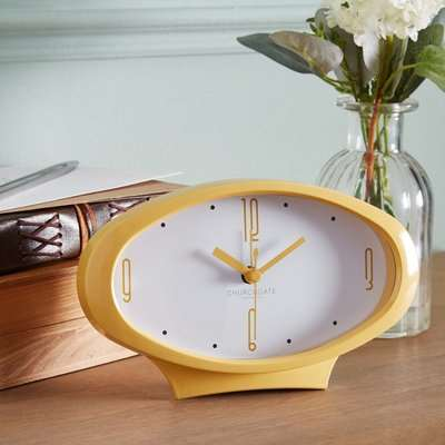 Alarm Clock Ochre Yellow