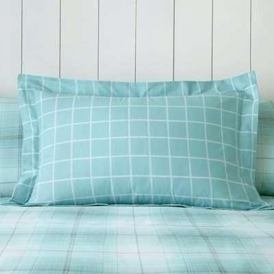 Albie Blue Oxford Pillowcase Blue
