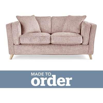 Arabella 2 Seater Sofa Luxury Chenille Premium Chenille Rosewood