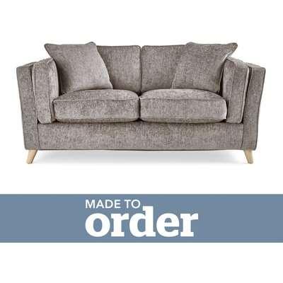 Arabella 2 Seater Sofa Luxury Chenille Premium Chenille Grey
