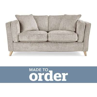 Arabella 2 Seater Sofa Luxury Chenille Premium Chenille Sand