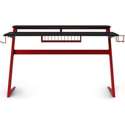 Aries Gaming Desk Black/Red