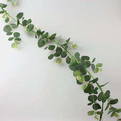 Artificial Eucalyptus Green Garland 150cm Green