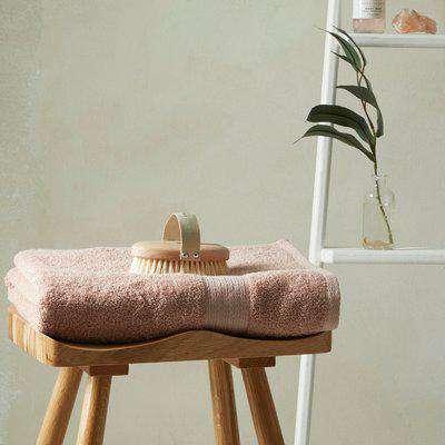 Ultra Absorbent 100% Cotton Bath Sheet Blush (Pink)