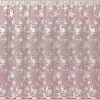 Bouquet Ivory Lace Fabric Cream