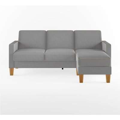 Bowen Chenille Corner Sofa Grey